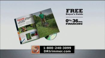 DR Trimmer Mower TV Spot, 'The Original Trimmer on Wheels' - Thumbnail 7