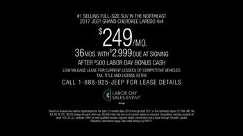 Jeep Labor Day Sales Event TV Spot, 'Adventure Ready' [T2] - Thumbnail 4