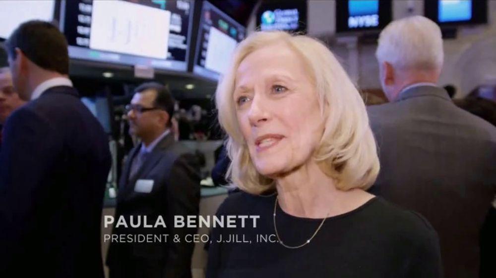 New York Stock Exchange (NYSE) TV Commercial, 'J. Jill'