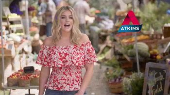 Atkins Chocolate Chip Granola Bar TV Spot, \'Atkins Effect\' Ft Lauren Alaina