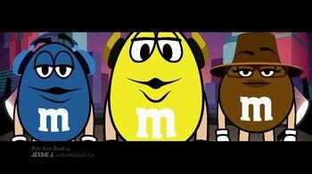 M&M's TV Spot, 'Jessie J for Bite-Size Beats: Beatboxing' - 321 commercial airings