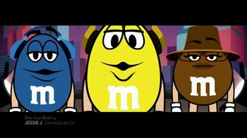 M&M's TV Spot, 'Jessie J for Bite-Size Beats: Beatboxing' - 321 commercial airings