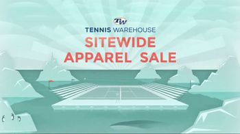 Tennis Warehouse Sitewide Apparel Sale TV Spot, 'Everyone Saves' - Thumbnail 2