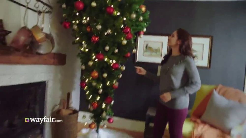 wayfair tv commercial 2017 holidays done is fun ispottv