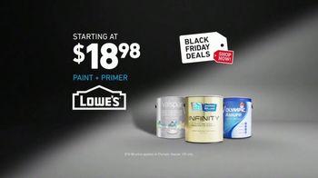 Lowe's Black Friday Deals Event TV Spot, 'Blues: Paint and Primers' - Thumbnail 9