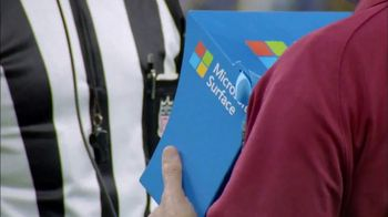 Microsoft Surface TV Spot, 'NFL Sidelines: Miami Replay' - Thumbnail 9