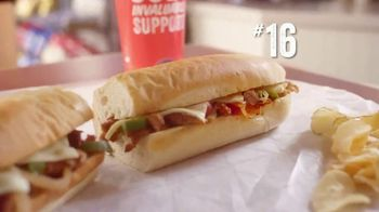 Jersey Mike's TV Spot, 'Feast Your Eyes' - Thumbnail 7