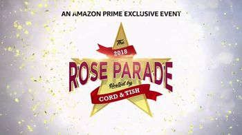 Amazon Prime Instant Video TV Spot, '2018 Rose Parade With Cord and Tish'