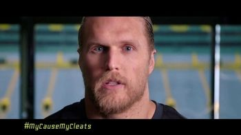 NFL My Cause My Cleats TV Spot, 'Combat Duchenne' Featuring Clay Matthews - Thumbnail 2