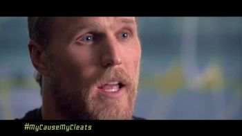 NFL My Cause My Cleats TV Spot, 'Combat Duchenne' Featuring Clay Matthews - Thumbnail 5