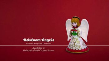 Hallmark Keepsake Ornaments TV Spot, 'Hallmark Channel: Heirloom Angels' - Thumbnail 6