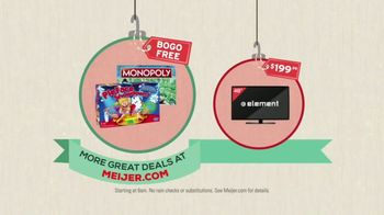 Meijer TV Spot, 'Black Friday: Board Games and TVs'