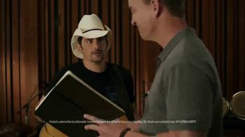 Nationwide Insurance TV Spot, 'Peyton's Lyrics' Featuring Brad Paisley - Thumbnail 4