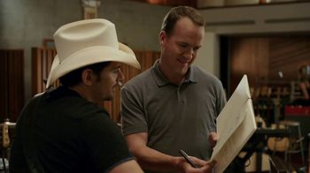 Nationwide Insurance TV Spot, 'Peyton's Lyrics' Featuring Brad Paisley - 404 commercial airings