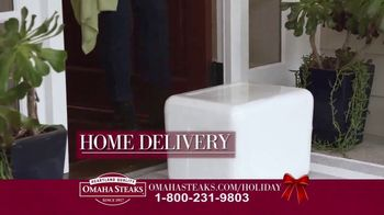 Omaha Steaks Favorite Gift Package TV Spot, 'Family and Friends' - Thumbnail 7