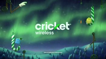 Cricket Wireless Unlimited 2 Plan TV Spot, 'Holiday Magic: Two Lines' - Thumbnail 10