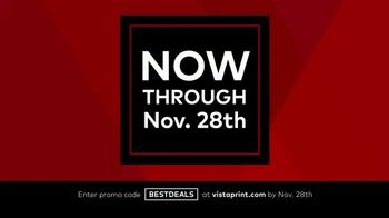 Vistaprint Black Friday & Cyber Monday Deals TV Spot, 'Won't Last Long' - Thumbnail 4