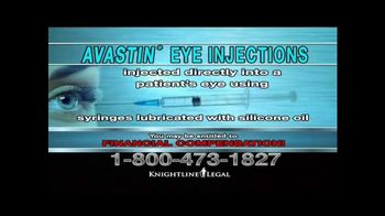Knightline Legal TV Spot, 'AVASTIN Eye Injections' - Thumbnail 2