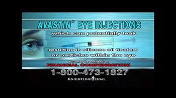 Knightline Legal TV Spot, 'AVASTIN Eye Injections' - Thumbnail 3