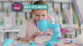 Cool Maker Sew N' Style Machine TV Spot, 'Make Your Own Fashions''