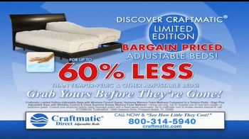 Craftmatic TV Spot, 'Bargain-Priced Adjustable Bed' - Thumbnail 10