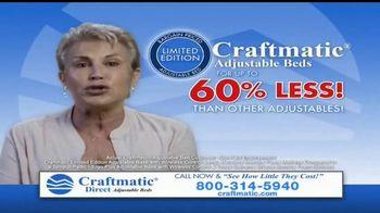 Craftmatic TV Spot, 'Bargain-Priced Adjustable Bed' - Thumbnail 2