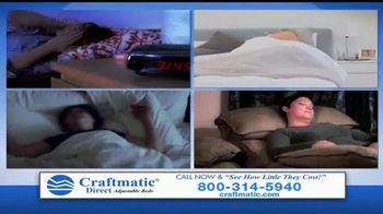 Craftmatic TV Spot, 'Bargain-Priced Adjustable Bed'