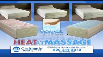 Craftmatic TV Spot, 'Bargain-Priced Adjustable Bed' - Thumbnail 6