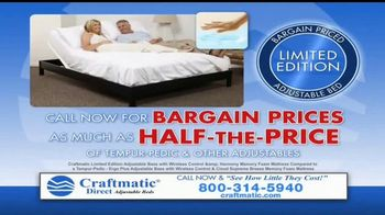 Craftmatic TV Spot, 'Bargain-Priced Adjustable Bed' - Thumbnail 9