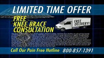 Pain Free Hotline TV Spot, 'Medical Update: Knee Brace' - Thumbnail 7