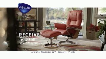 Ekornes Stressless TV Spot, 'Charity Donation'