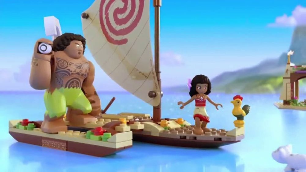 LEGO Disney Moana TV Commercial, 'Set Sail' - iSpot.tv