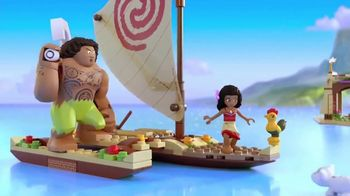 LEGO Disney Moana TV Spot, 'Set Sail'