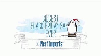 Pier 1 Imports Biggest Black Friday Sale Ever TV Spot, 'Go Christmas Crazy' - Thumbnail 1