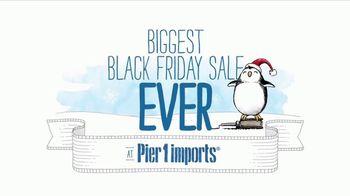 Pier 1 Imports Biggest Black Friday Sale Ever TV Spot, 'Go Christmas Crazy' - Thumbnail 2