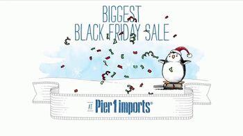 Pier 1 Imports Biggest Black Friday Sale Ever TV Spot, 'Go Christmas Crazy'
