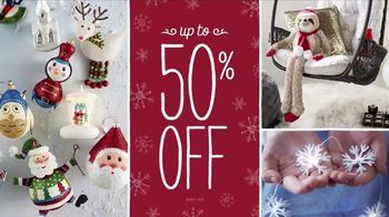 Pier 1 Imports Biggest Black Friday Sale Ever TV Spot, 'Go Christmas Crazy' - Thumbnail 5