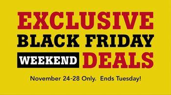 Lumber Liquidators Yellow & Black Friday Flooring Sale TV Spot, 'Exclusive'