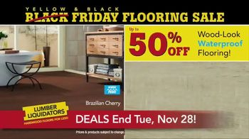 Lumber Liquidators Yellow & Black Friday Flooring Sale TV Spot, 'Exclusive' - Thumbnail 4