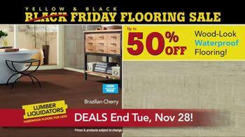 Lumber Liquidators Yellow & Black Friday Flooring Sale TV Spot, 'Exclusive' - Thumbnail 5