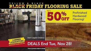 Lumber Liquidators Yellow & Black Friday Flooring Sale TV Spot, 'Exclusive' - Thumbnail 6