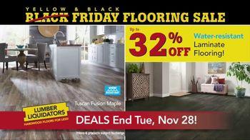 Lumber Liquidators Yellow & Black Friday Flooring Sale TV Spot, 'Exclusive' - Thumbnail 7