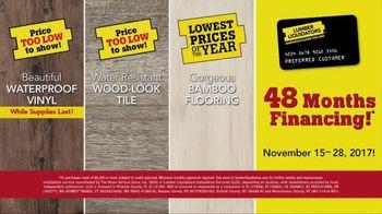 Lumber Liquidators Yellow & Black Friday Flooring Sale TV Spot, 'Exclusive' - Thumbnail 9