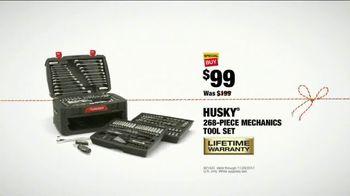 The Home Depot Black Friday Savings TV Spot, 'Mechanics Tool Set' - Thumbnail 9