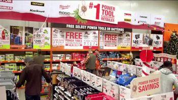 The Home Depot Black Friday Savings TV Spot, 'Mechanics Tool Set'