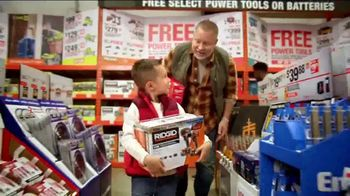The Home Depot Black Friday Savings TV Spot, 'Mechanics Tool Set' - Thumbnail 6