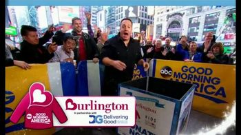 Burlington Warm Coats & Warm Hearts Drive TV Spot, 'ABC: Donate' - Thumbnail 1