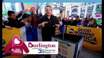 Burlington Warm Coats & Warm Hearts Drive TV Spot, 'ABC: Donate' - 8 commercial airings