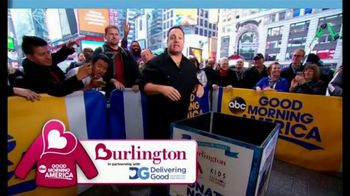 Burlington Warm Coats & Warm Hearts Drive TV Spot, 'ABC: Donate' - Thumbnail 3