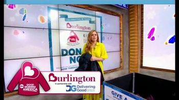 Burlington Warm Coats & Warm Hearts Drive TV Spot, 'ABC: Donate' - Thumbnail 4